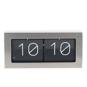 Auto flip down big box flip clock